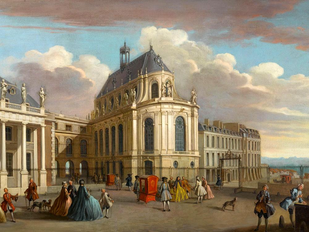 The royal chapel palace of versailles for Miroir des princes