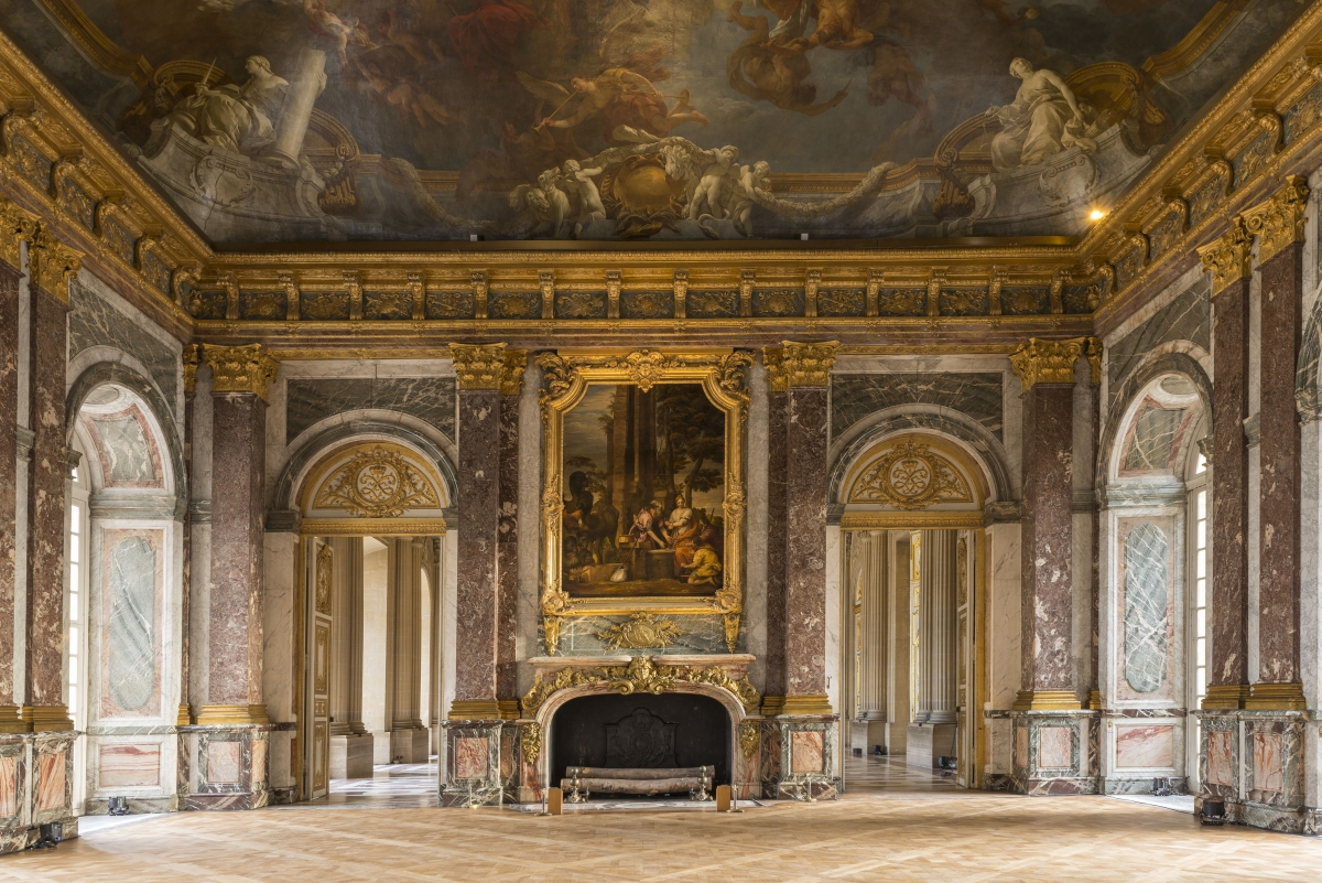 The king s state apartments palace of versailles for Salon versaille