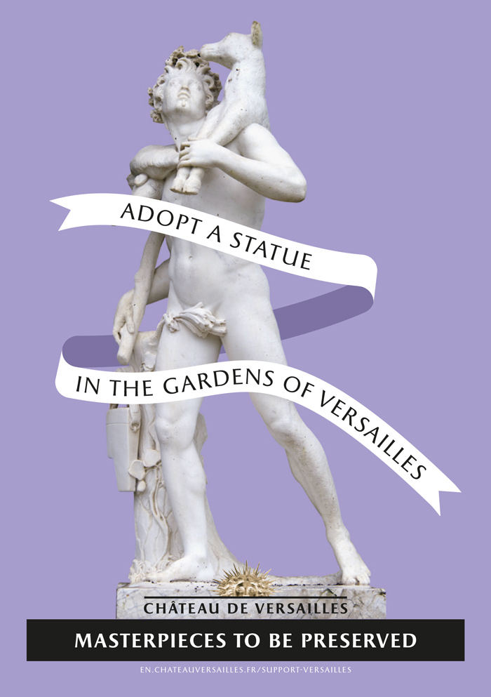 Adopt a statue | Palace of Versailles