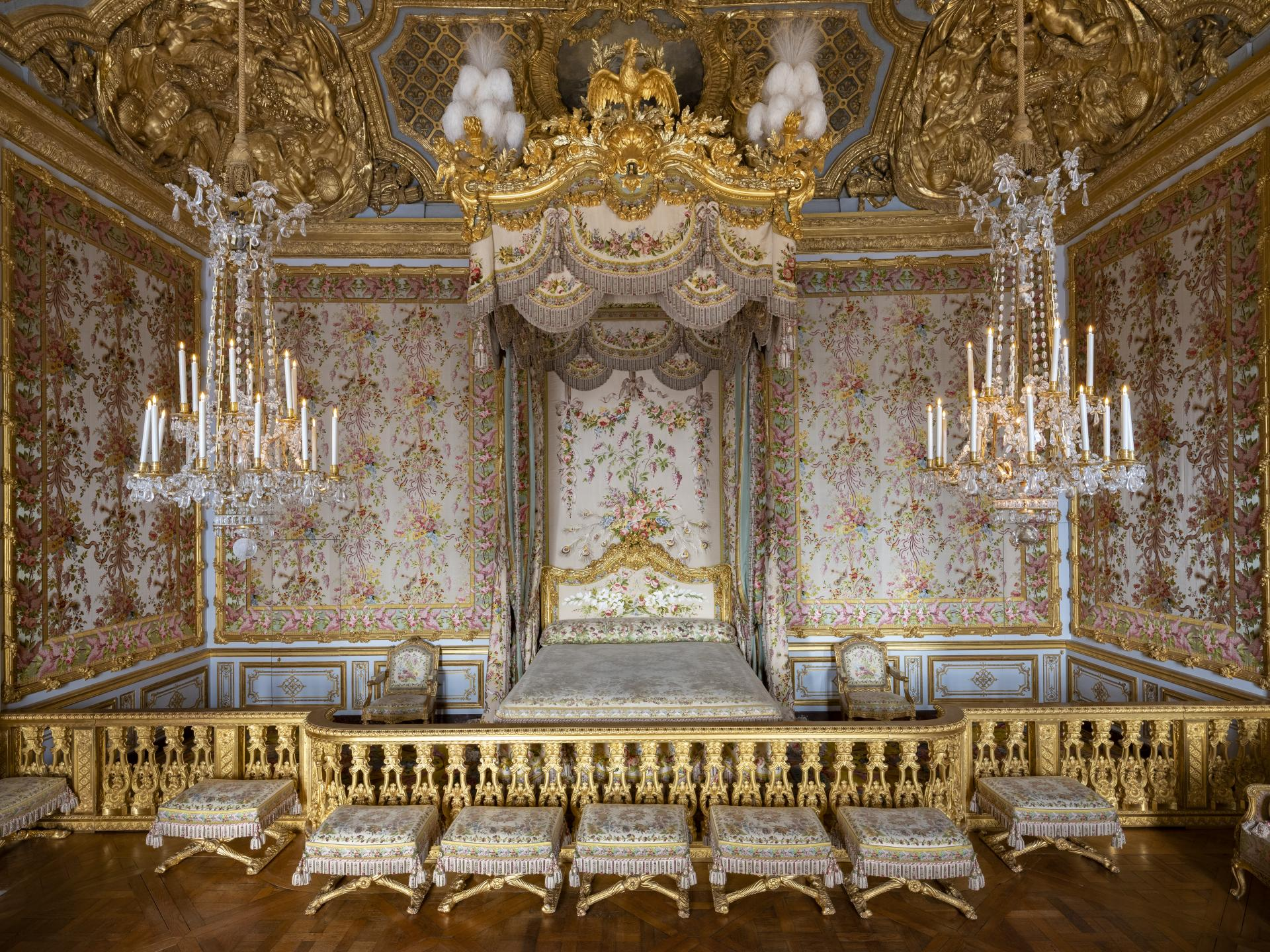 Excellent The Queens Apartments Palace Of Versailles Interior Design Ideas Apansoteloinfo