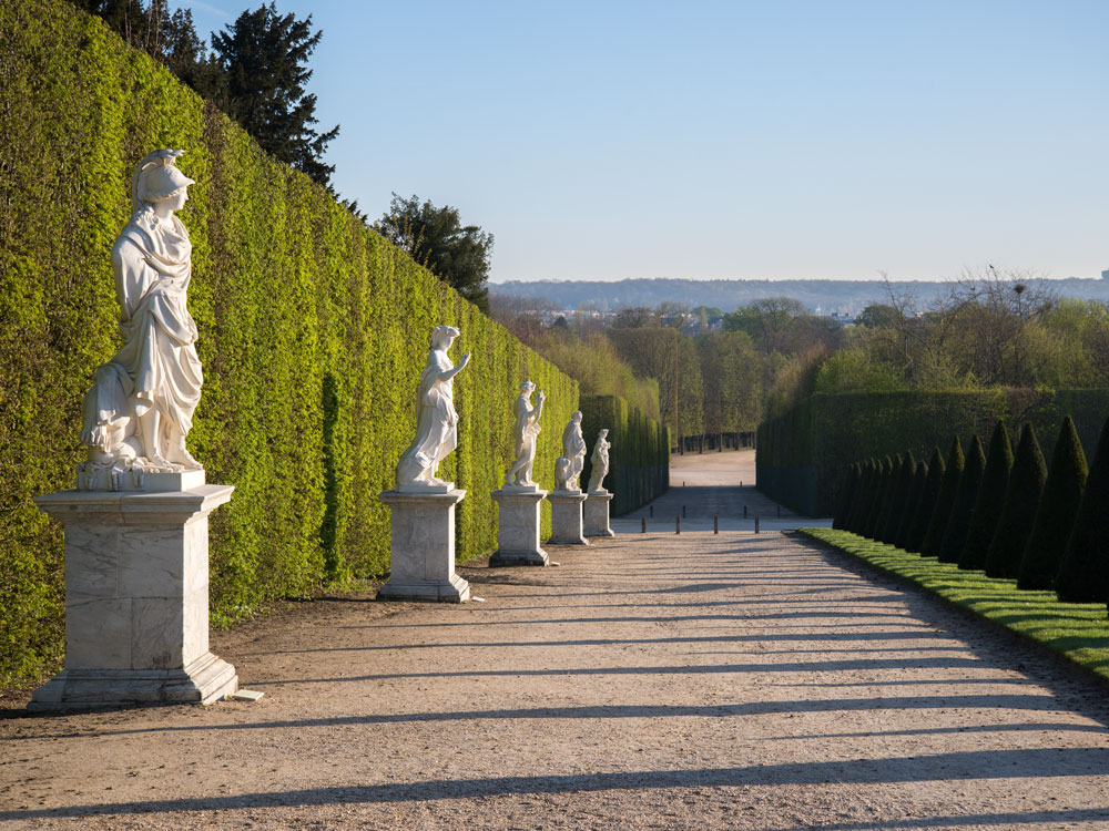 The gardens palace of versailles for Garden design versailles
