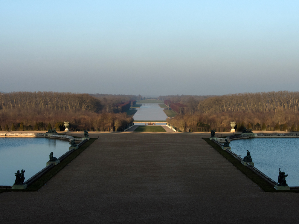 Parterres And Paths Palace Of Versailles