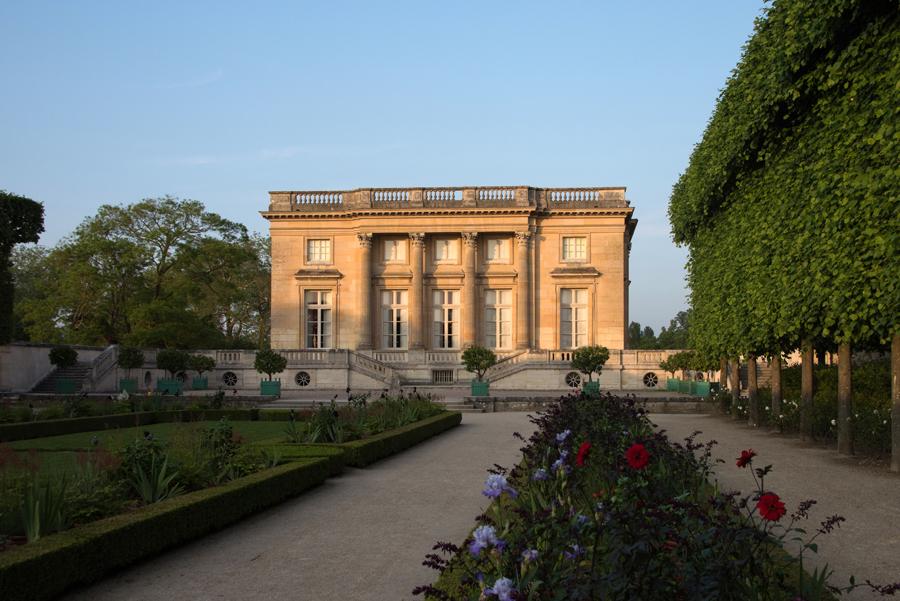 Fachada do Petit Trianon
