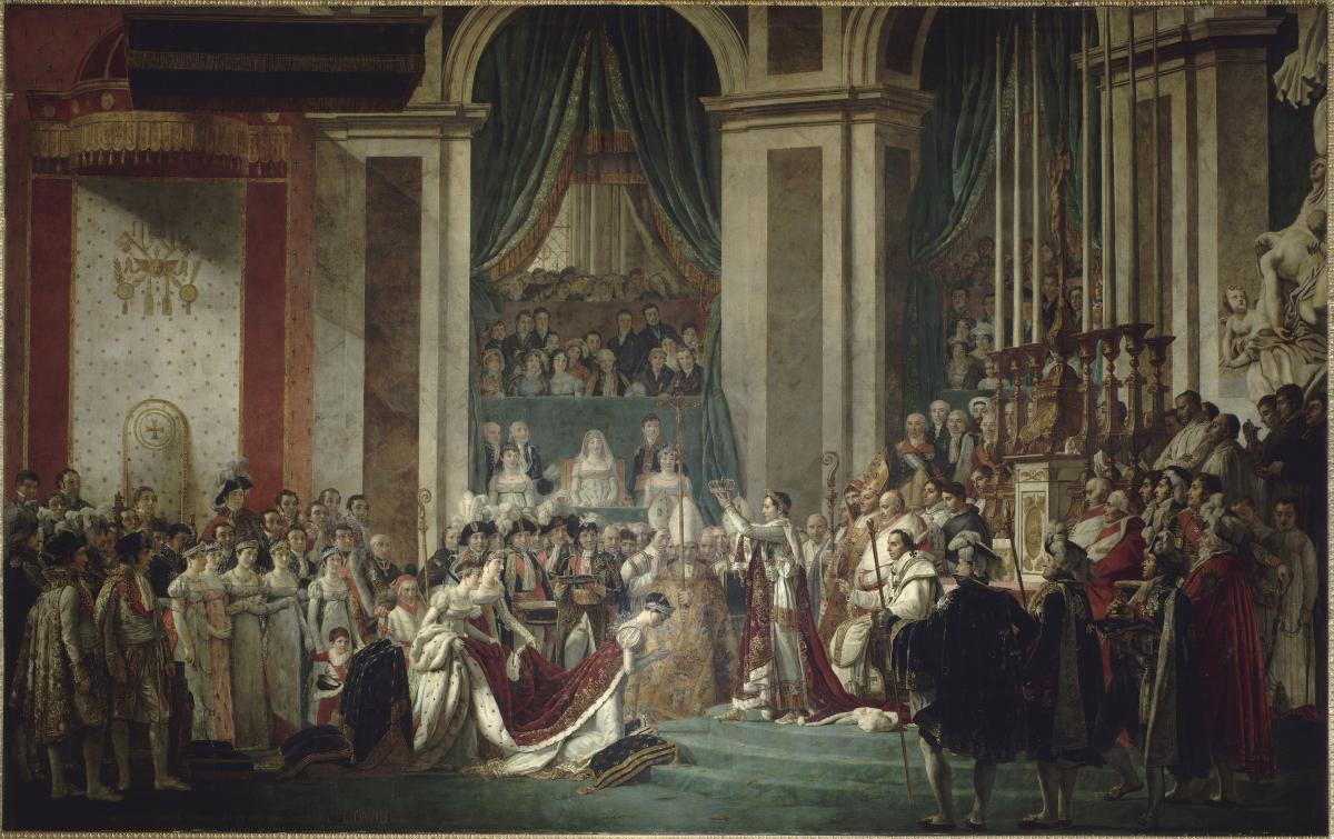 The Coronation Room Palace Of Versailles