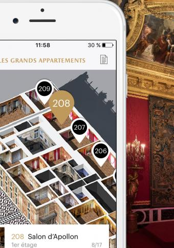 The Palace of Versailles' Mobile Application