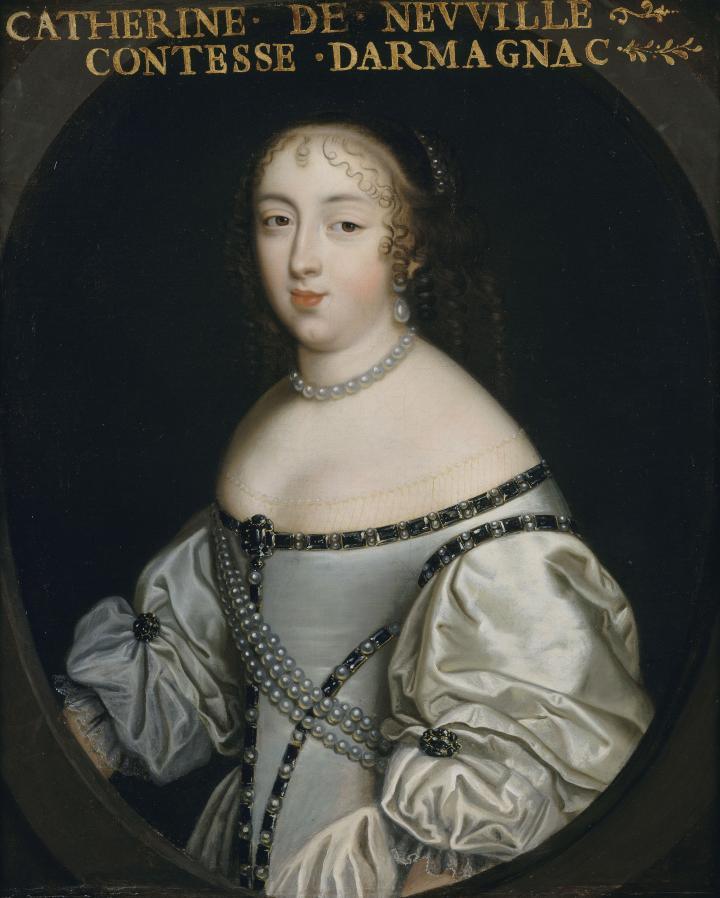 Catherine de Neuville de Villeroy, comtesse d'Armagnac