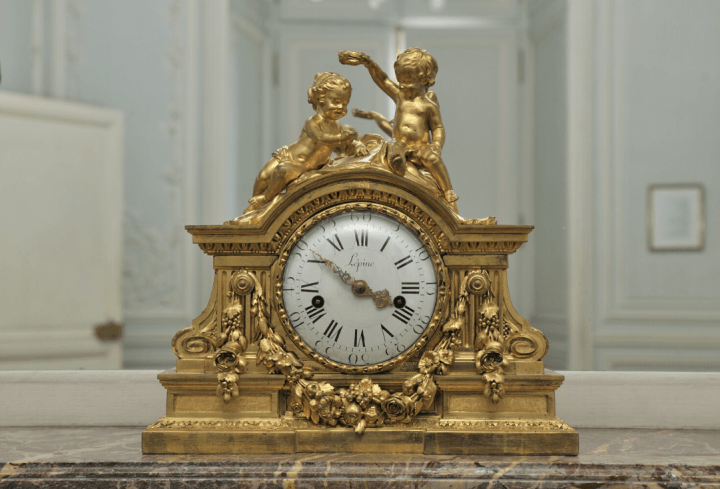 Pendule de l'appartement de Madame Royale
