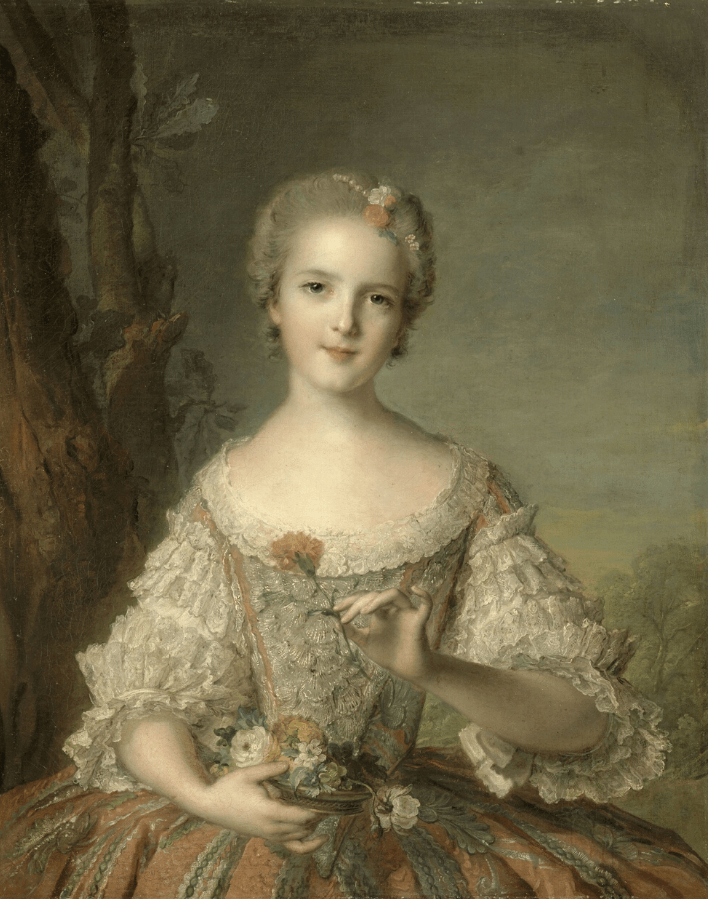 Portrait de Louise-Marie de France, dite Madame Louise