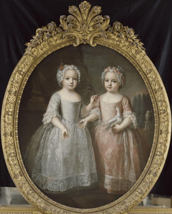 Louise-Elisabeth de France, duchesse de Parme et Henriette de France