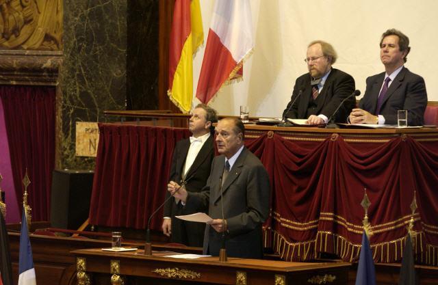 Jacques Chirac' speech
