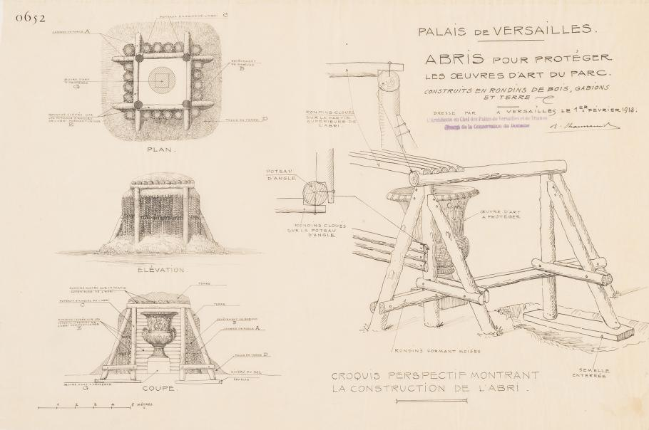 Sketches by architect Benjamin Chaussemiche