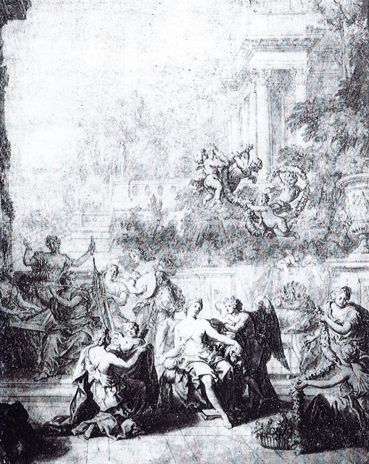 La toilette de Vénus, drawing