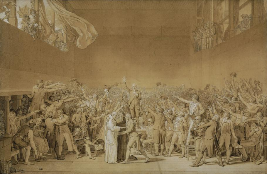 The Oath of the Royal Tennis Court, 20 June 1789
