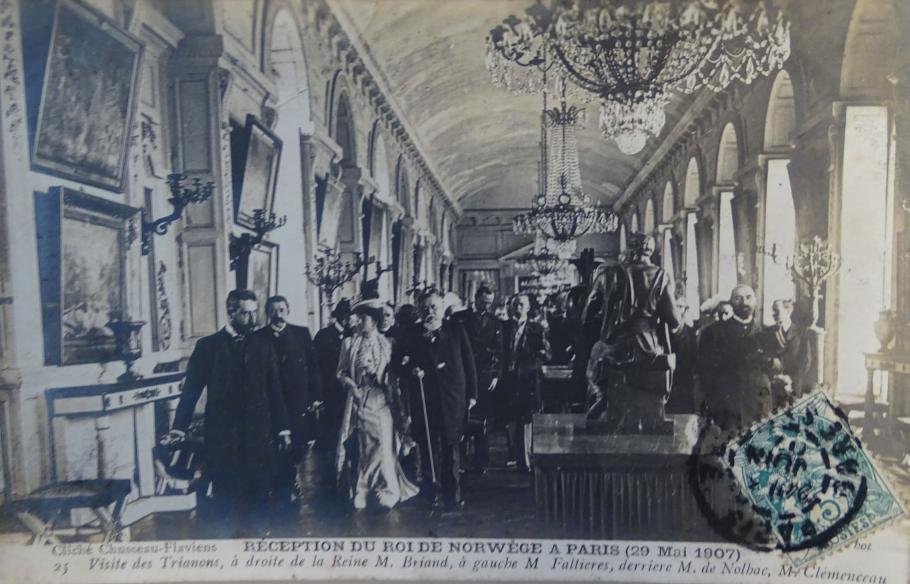 Reception of the King of Norway in Paris (29 May 1907)-  Trianons visit