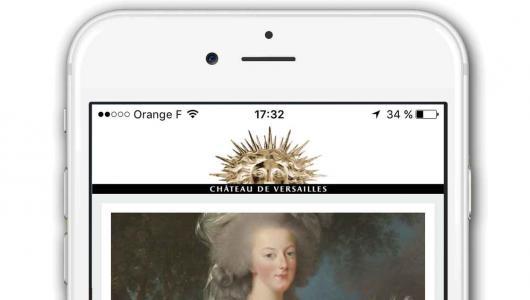 Application des châteaux et jardins de Trianon