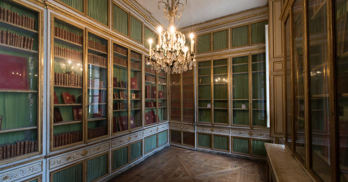 Rooms: Restoration Of The Queen's Library