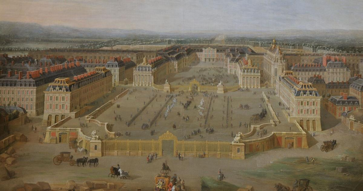 The court returns to versailles 1722 palace of versailles - Photo chateau de versailles ...