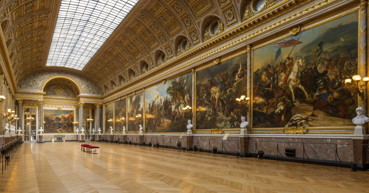 The Gallery of Great Battles | Palace of Versailles