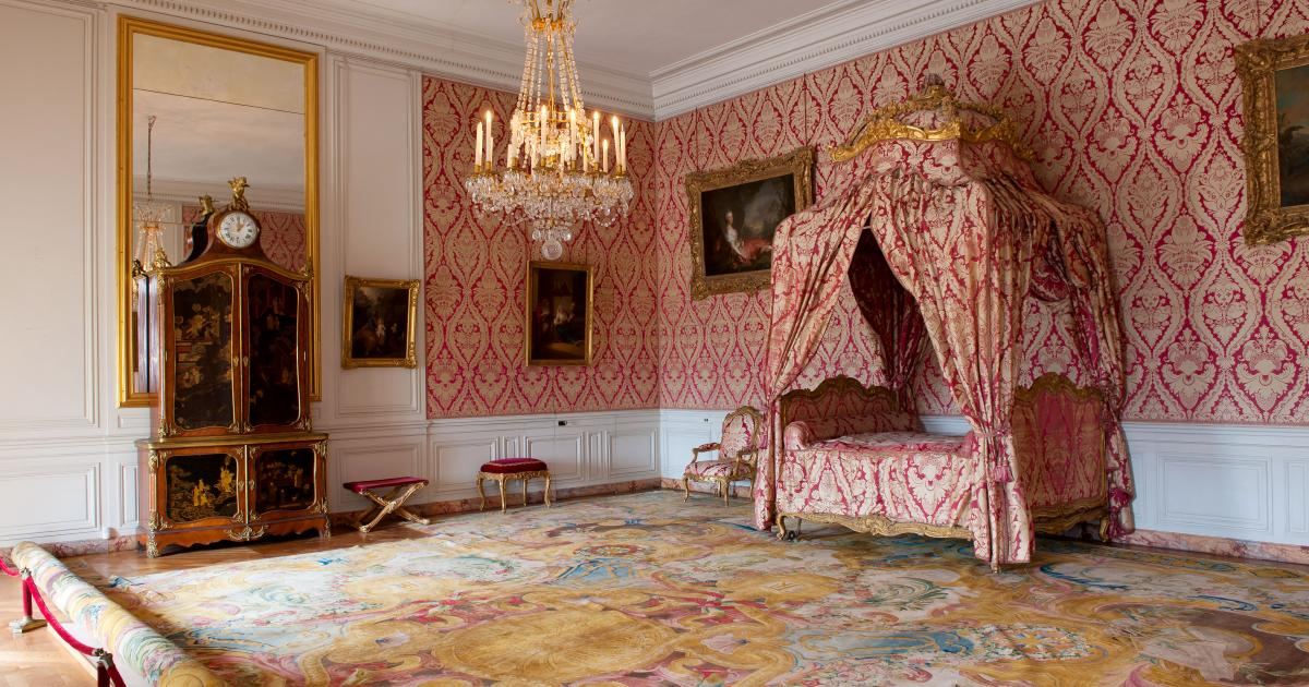 The Dauphin And The Dauphines Apartments Palace Of Versailles