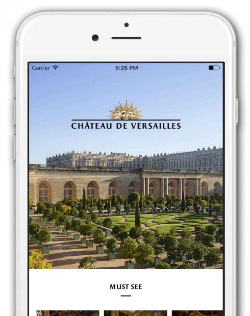 Palace of Versailles app