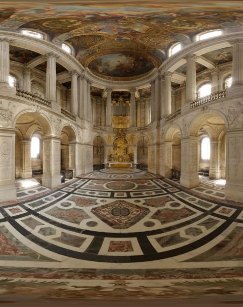 Versailles in 3D