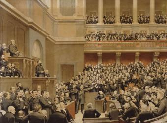 Les parlementaires à Versailles