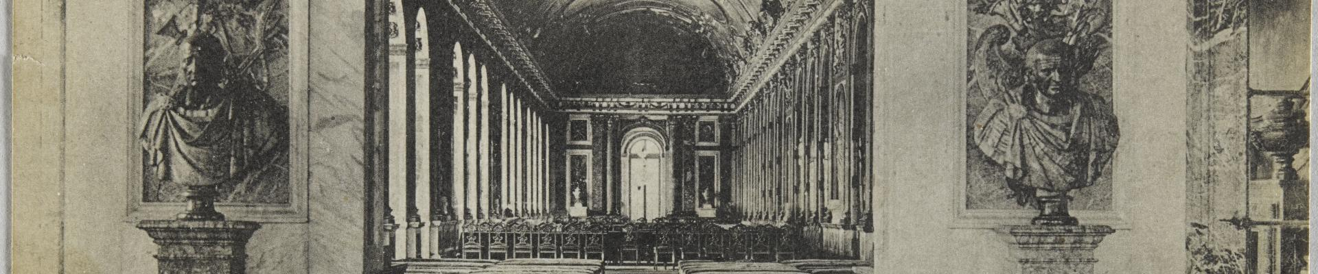 The Treaty of Versailles 1919 Palace of Versailles