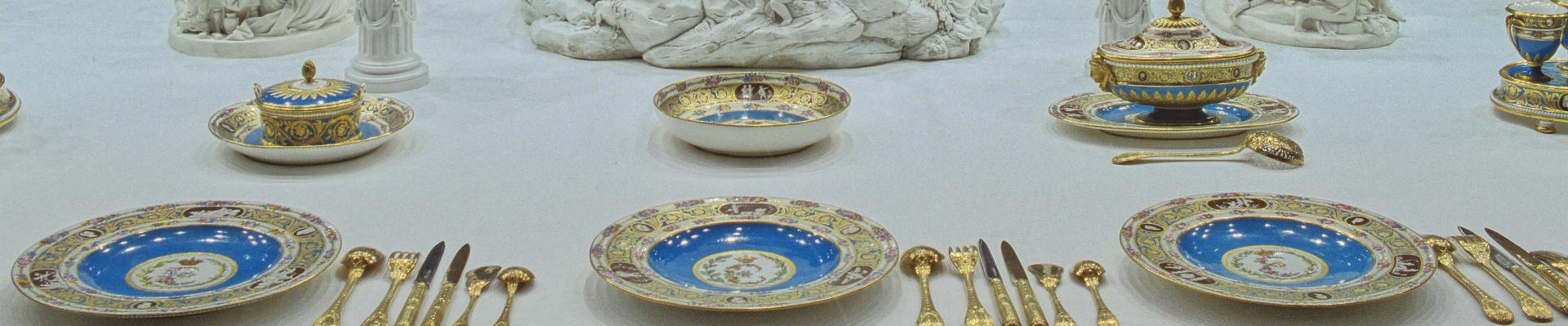 Royal tables palace of versailles - Art de la table nantes ...