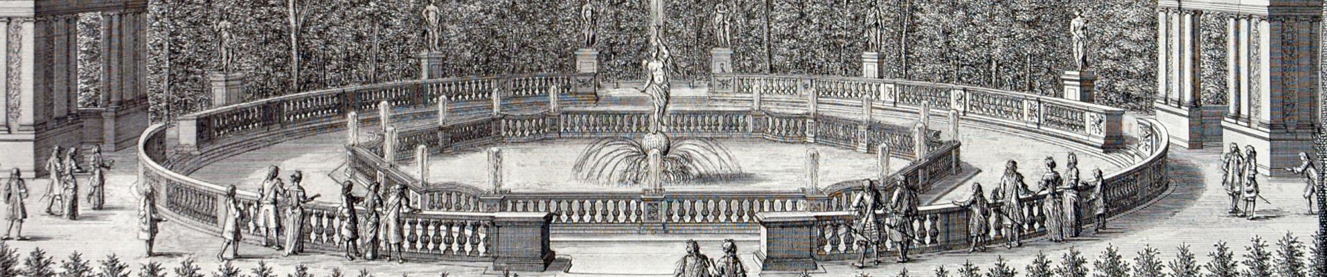 """Versailles, """"capital"""" of the kingdom, 1682 6 May 1682"""