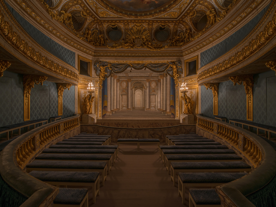 The Queen S Theatre Palace Of Versailles